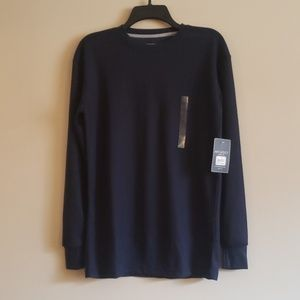 NWT Men's Navy Thermal Size Small